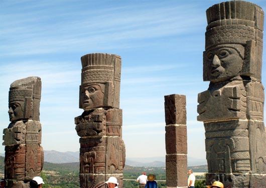 город Тулу, терафимы, строения, артефакты
