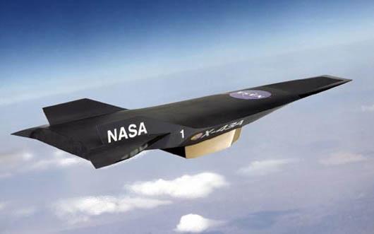 самый быстрый самолет в мире, Boeing Х-43, запрещенная наука, NASA