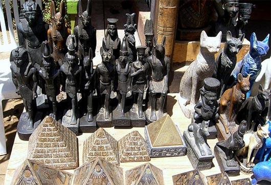 Египет, проклятие, артефакты