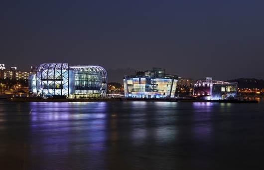 Корея, удивительные строения, остров Viva