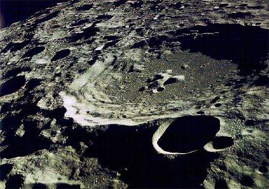Луна, космос