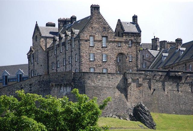 Эдинбургский замок, привидения, призраки, Шотландия, мистические существа