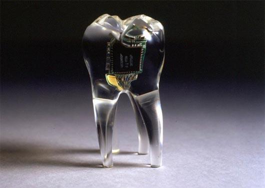 запрещенная наука, телефон в зубе