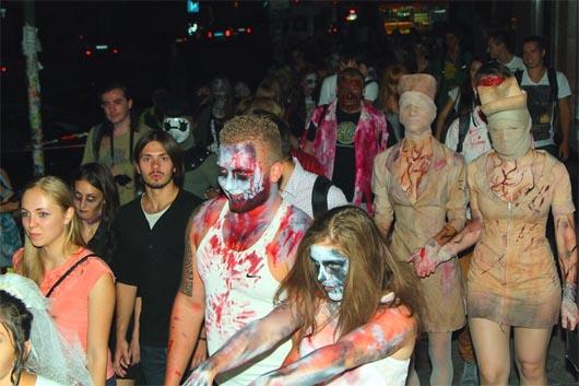 зомби в украине, зомби, зомби флешмоб