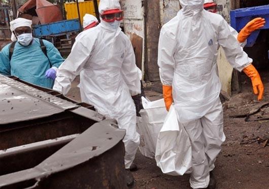 лихорадка эбола, эпидемии