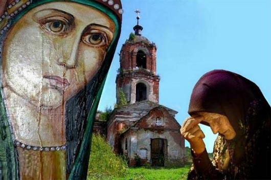 мироточение икон, почему икона плачет, церковь, плачущая икона