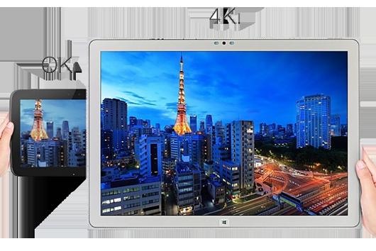 panasonic toughpad 4k, планшет 4k