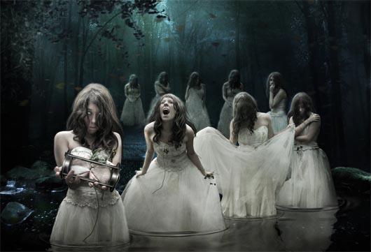 призраки, привидения, мистические существа