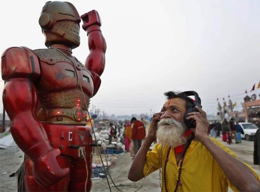 роботы-предсказатели, предсказатели, ясновидение, Индия