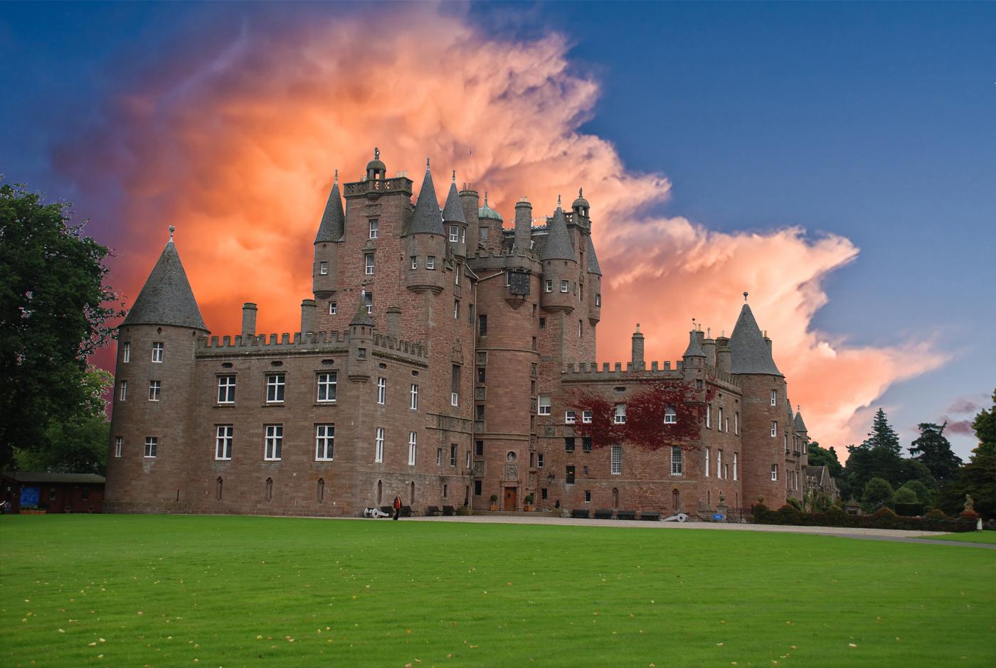 Шотландия, glamis castle, мистика