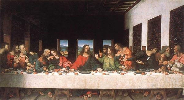 Леонардо Да Винчи, тайная вечеря, Удивительные люди