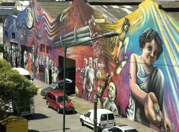 альфредо сегатори, граффити, художник, искусство, Удивительные люди,