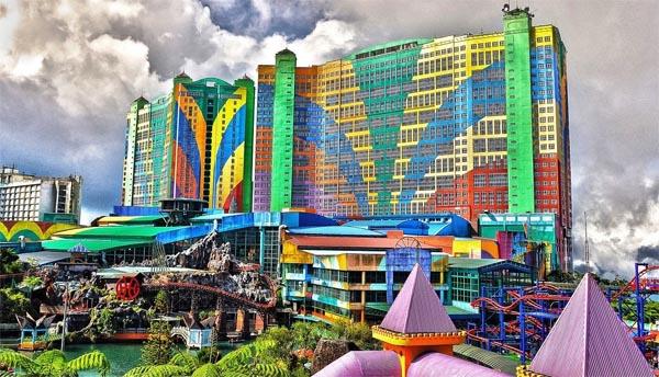 The First World Hotel, мистические отели, призраки, удивительные строения