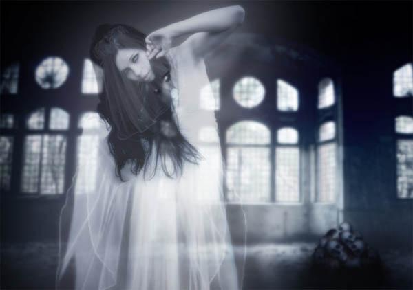 невеста-призрак, мистические существа, привидения, призраки