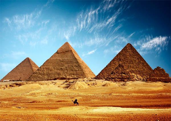 геобетон, пирамиды, мегалиты, Египетские пирамиды