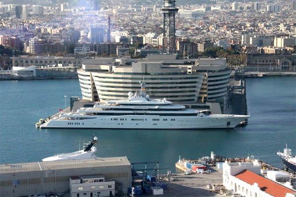 самая большая яхта в мире, яхта абрамовича, книга рекордов гиннеса
