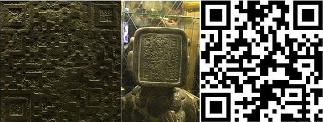 statuetka-maya-s-qr-kodom-na-litse-2