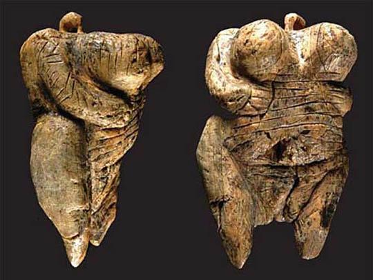 венера швабская, артефакты