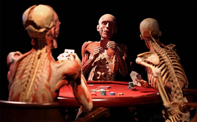 Доктор Смерть, гунтер фон хагенс, выставка Мир тела, Удивительные люди,
