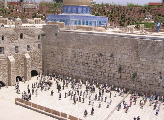 удивительные строения, Иерусалим, Израиль, Стена Плача